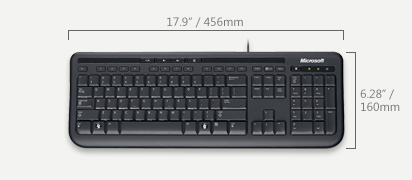 microsoft wired keyboard 600 review noughts and ones. Black Bedroom Furniture Sets. Home Design Ideas